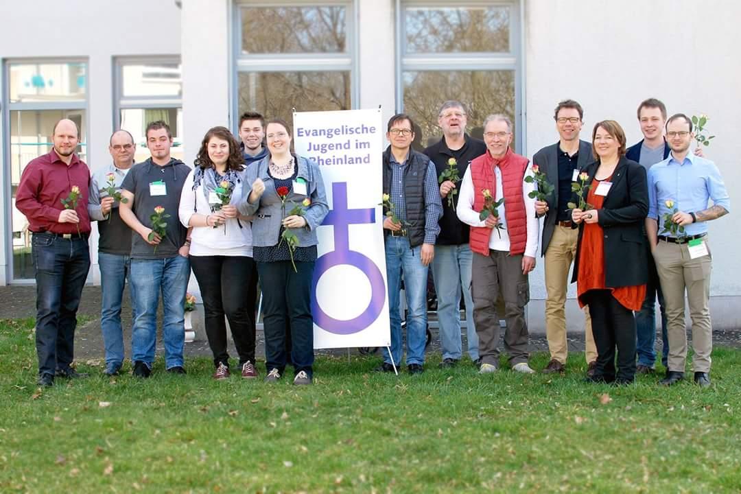 Neuer Vorstand der Evangelischen Jugend im Rheinland