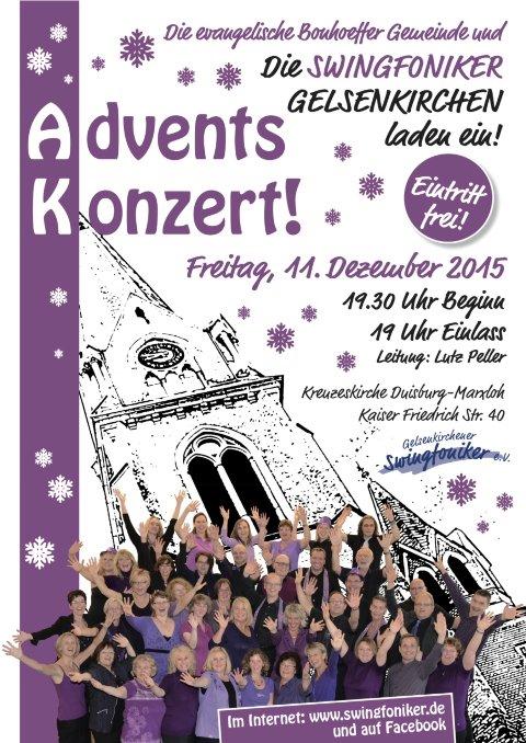 Gelsenkirchener Swingfoniker Konzert 2015-12-11