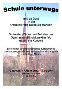 Konzert Kreuzeskirche